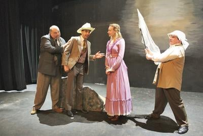 Hard times for Sherlock Holmes at The Theater Barn