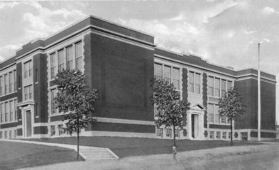Crane school building
