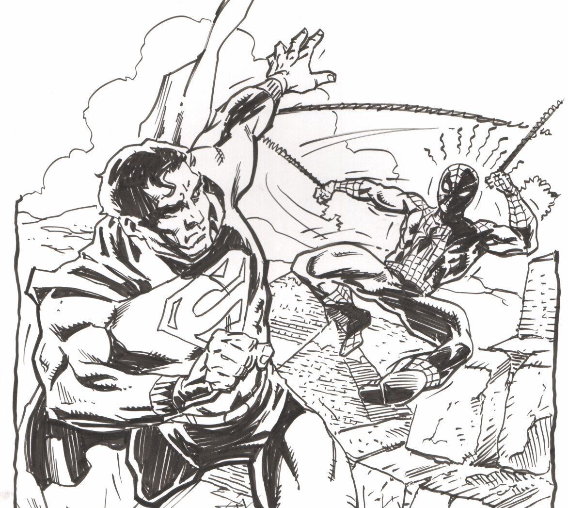 McDonnell Spiderman vs. Superman