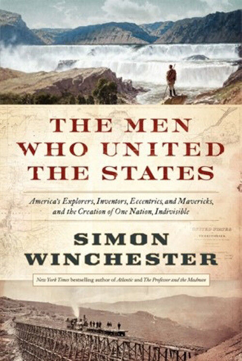 British-born author Winchester's love affair with US leads to latest book