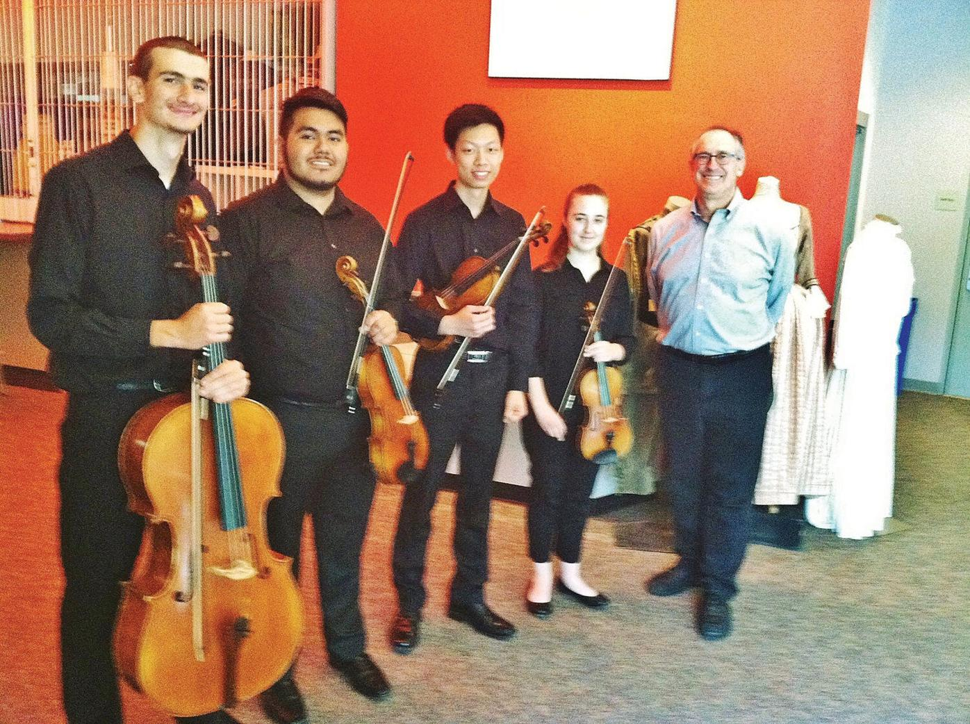Pittsfield High string quartet channels a dark but defiant corner of music history in 'Playing for Our Lives'