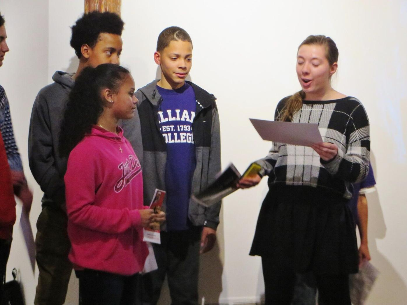 Reid Middle School Justice League: Finding power, learning responsibility