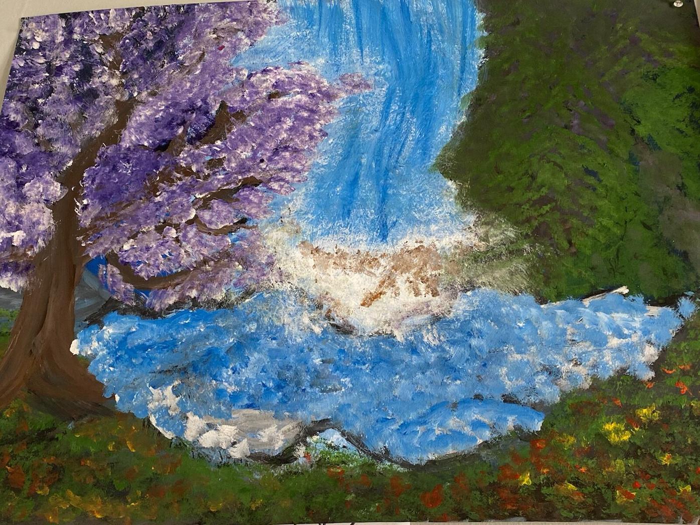 Michael Painting 1
