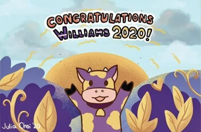 'Celebrating in an unexpected way': Williams Class of 2020 sent off with virtual ceremony