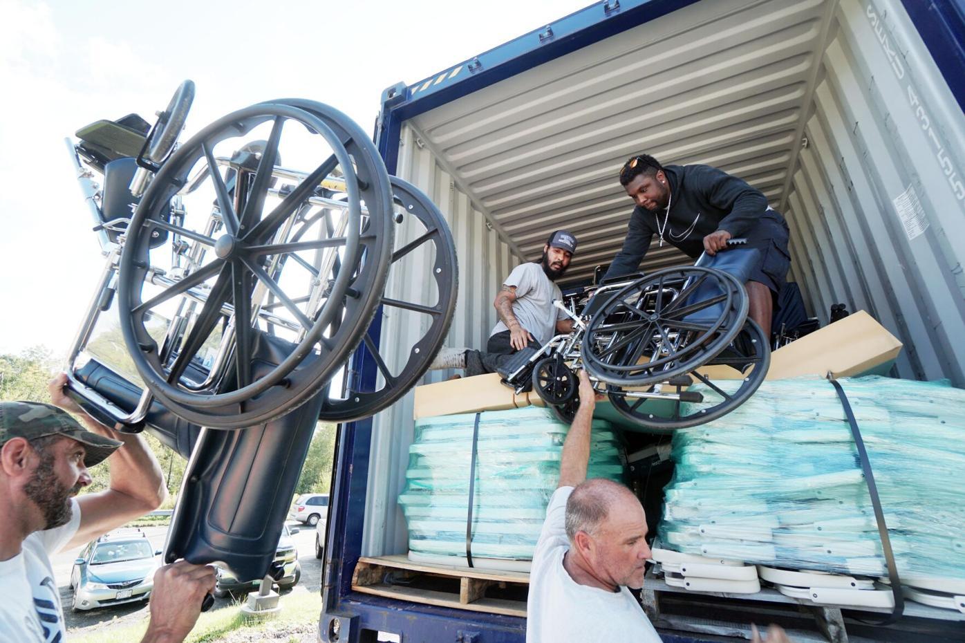 Movers pack sillas de ruedas
