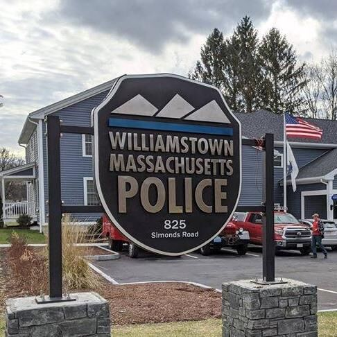 Williamstown Police Station sign