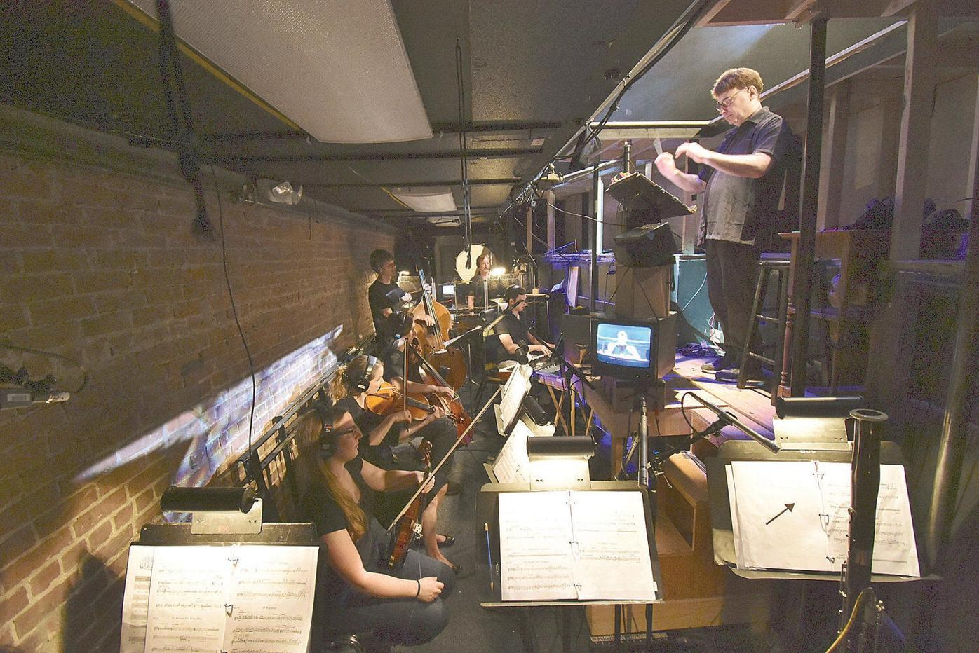 Into the pit for 'Into the Woods'