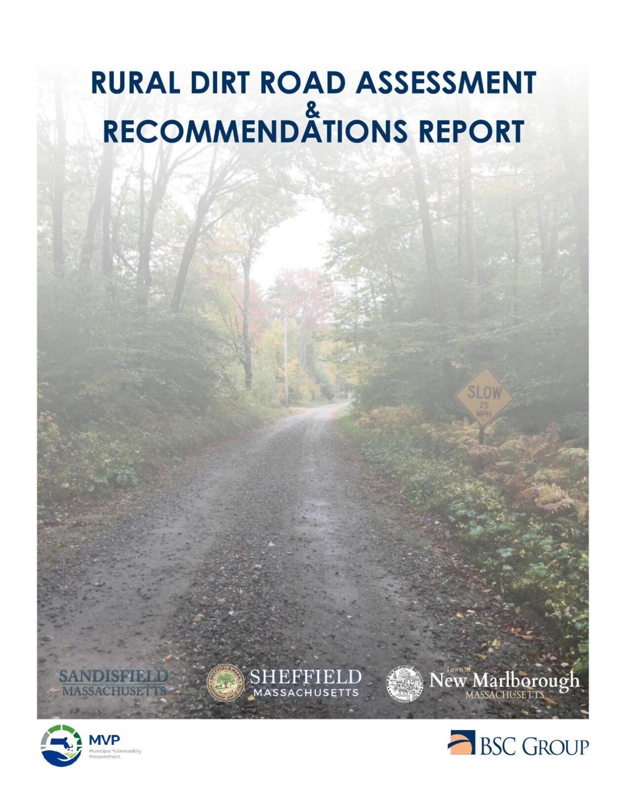 Rural Dirt Roads Assessment and Recommendations