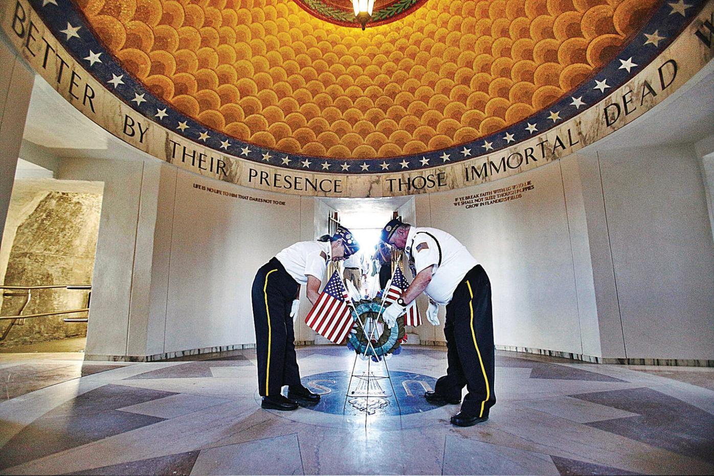 A shining light: Veterans War Memorial Tower reopens