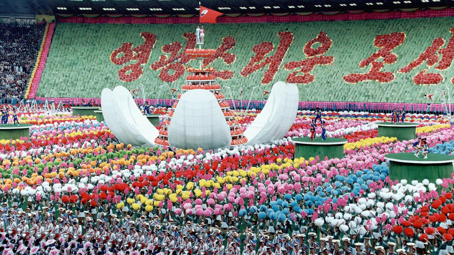 North Korea Pyongyang Celebration of the 80th Birthday for Kim Il Sung