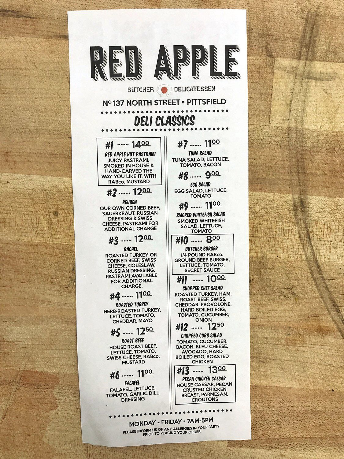 Red Apple Butchers picking up where it left off