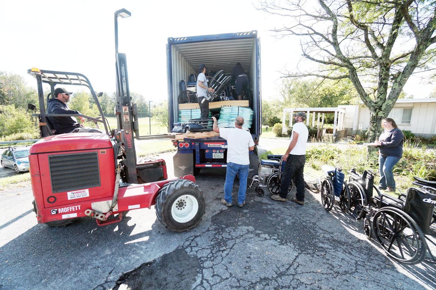 Mudanzas empacan contenedores de envío