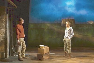 'Outside Mullingar' is a study in shadows at Berkshire Theatre Group's Unicorn Theatre