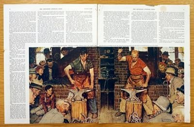 Reflecting Rockwell: Berkshire Museum paintings depict artist's local lifestyle