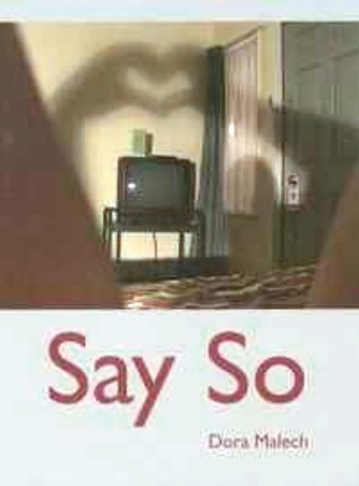 'Say So' is exciting volume of cutting-edge poetry