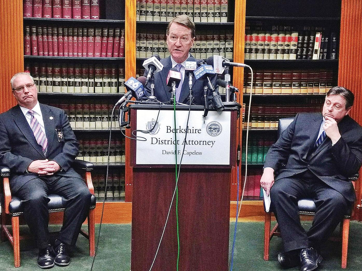 Berkshire District Attorney David Capeless stepping down