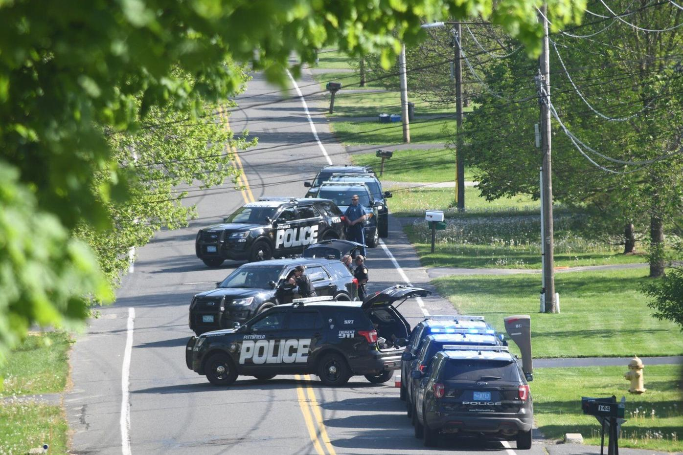 Man in custody after four-hour standoff on Eleanor Road in Pittsfield
