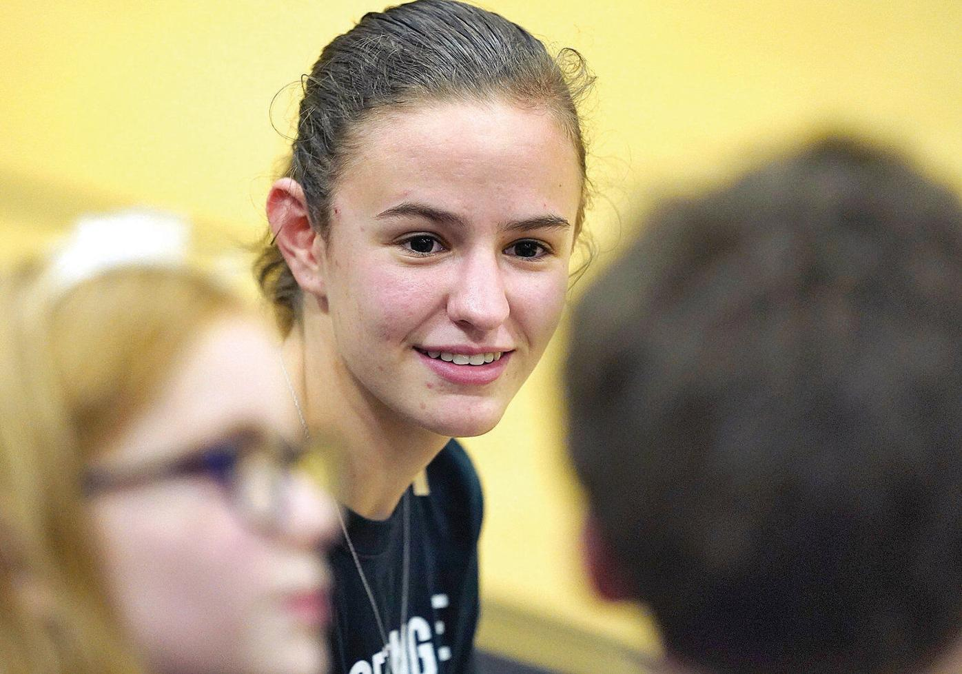 Madison Quinn uses PHS-Greylock volleyball game to help raise awareness about Strong Little Souls