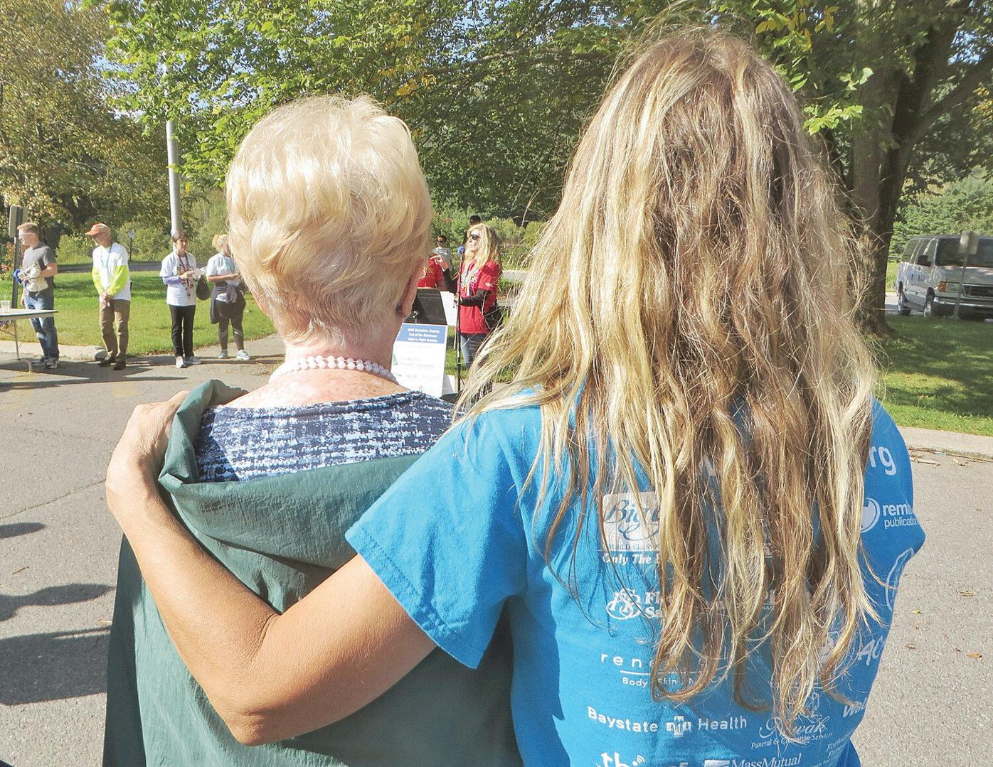 At Out of the Darkness Walk, message clear: 'You are not alone'
