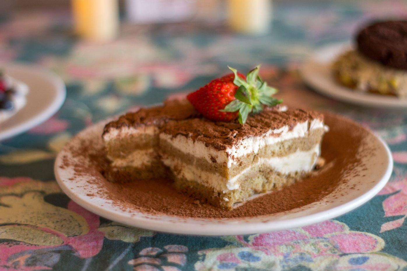 At Dottie's, when beer and wine won't do, turn to cake