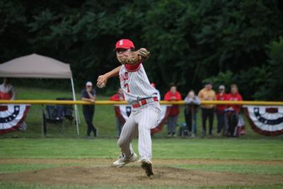 Sebastian Herrera pitching