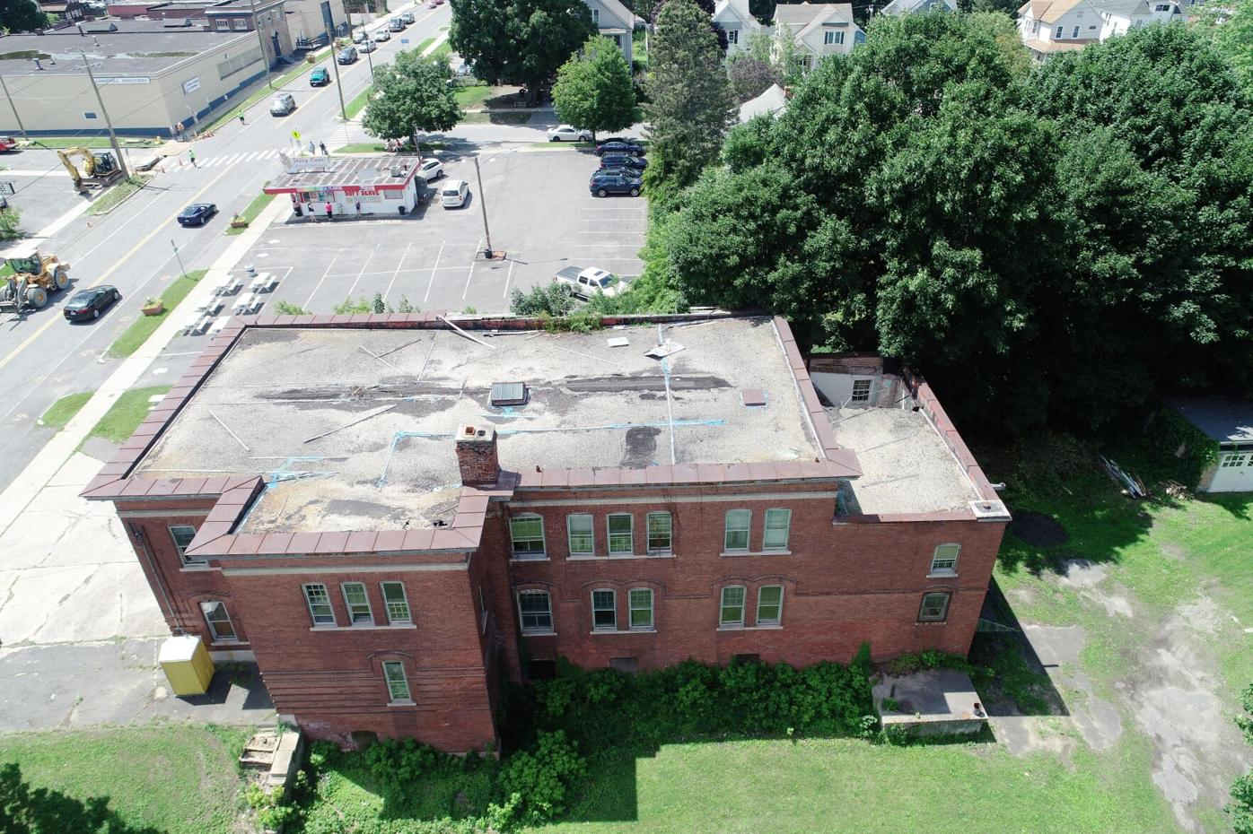 Aerial view of the Morningside Fire Station (copy)