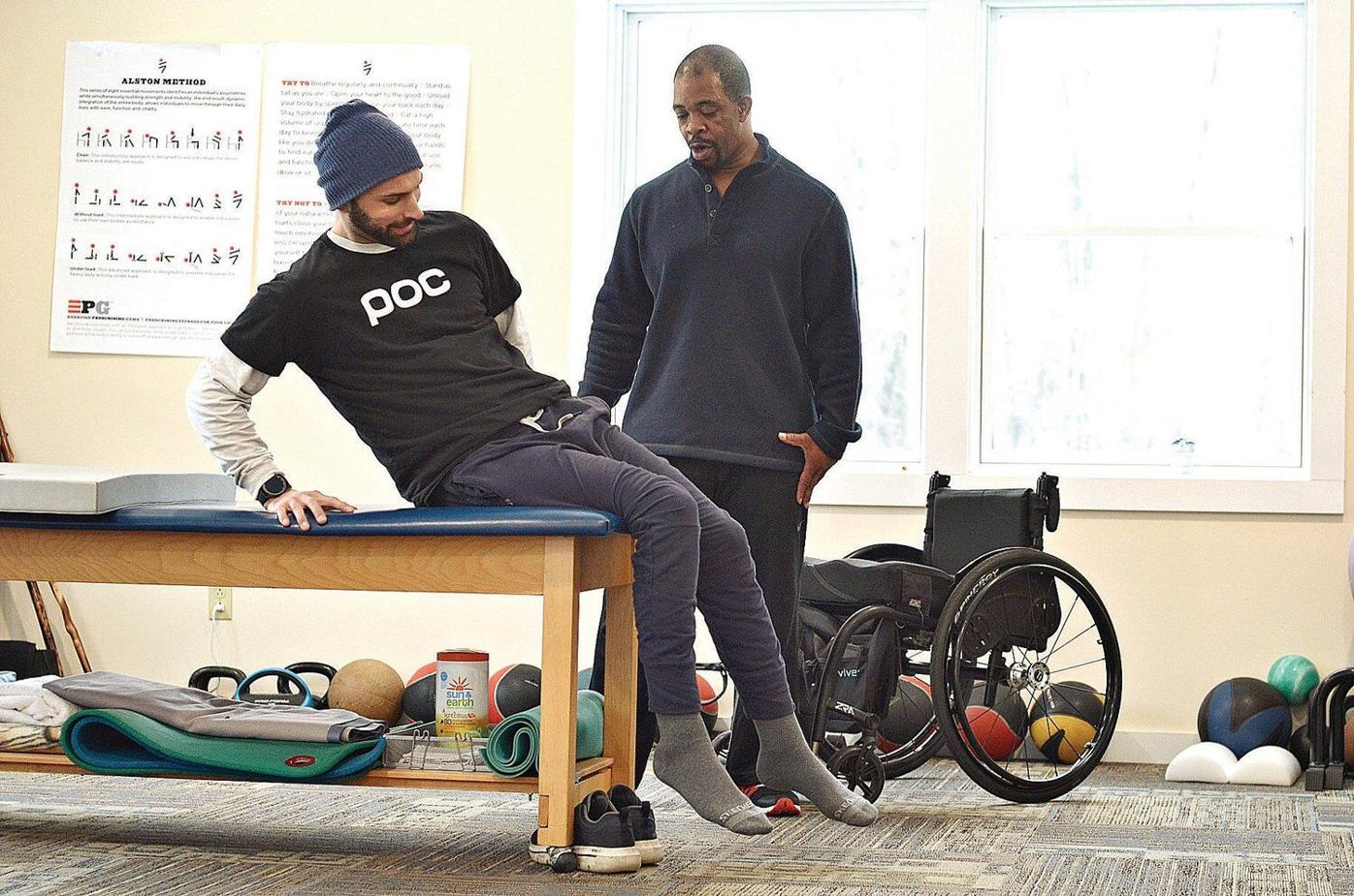 After dirt bike crash, spinal cord injury, Sheffield man aims to help the disabled community