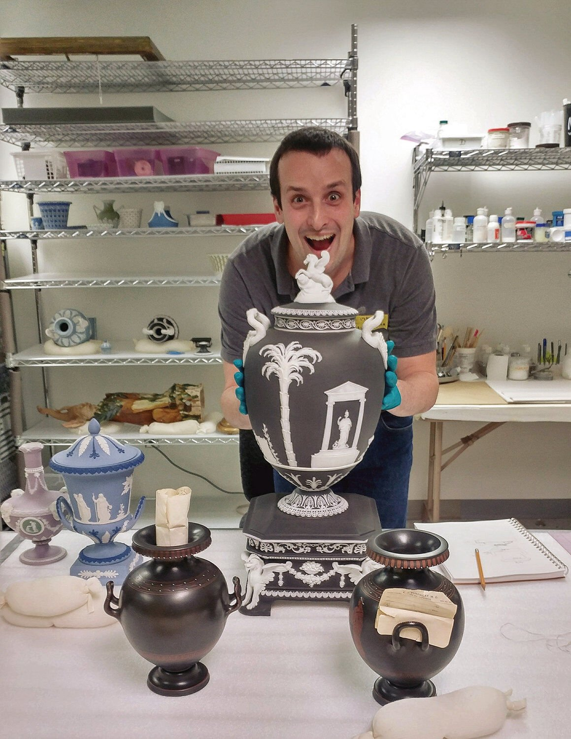 Not your grandmother's Wedgwood ...