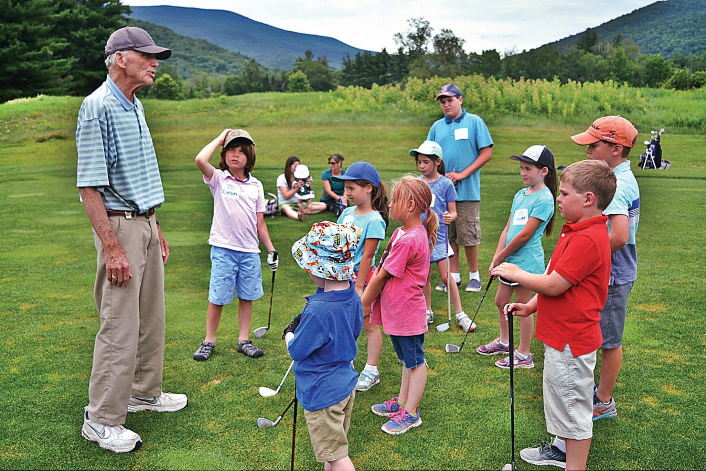 Tee to Green: Peter French still teaching the sport he loves
