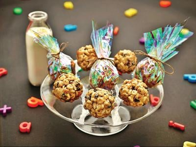 Cereal balls: Tailor-made breakfast on the run
