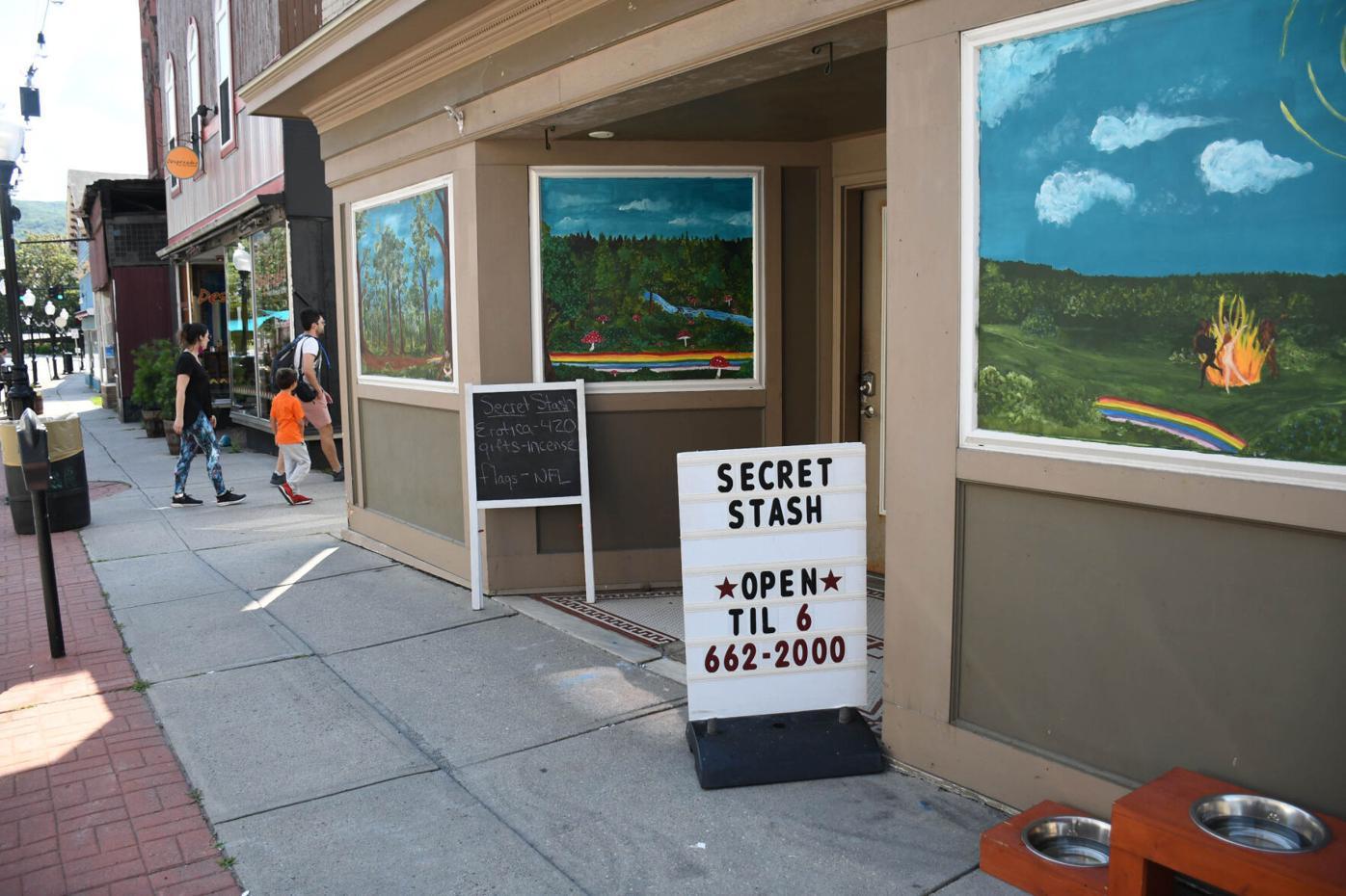 The outside view of Secret Stash