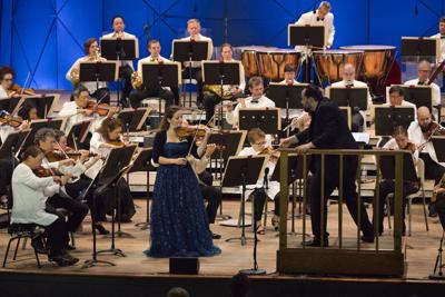 BSO Music Director Andris Nelsons leads violinist Baiba Skride