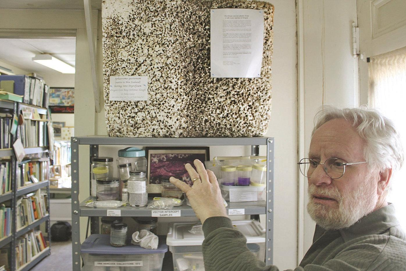 Youthful discovery drove Williams researcher to devote life to uncovering invasive species