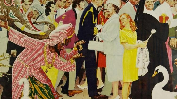 Norman Rockwell once painted Prince Philip — do you know in which illustration?