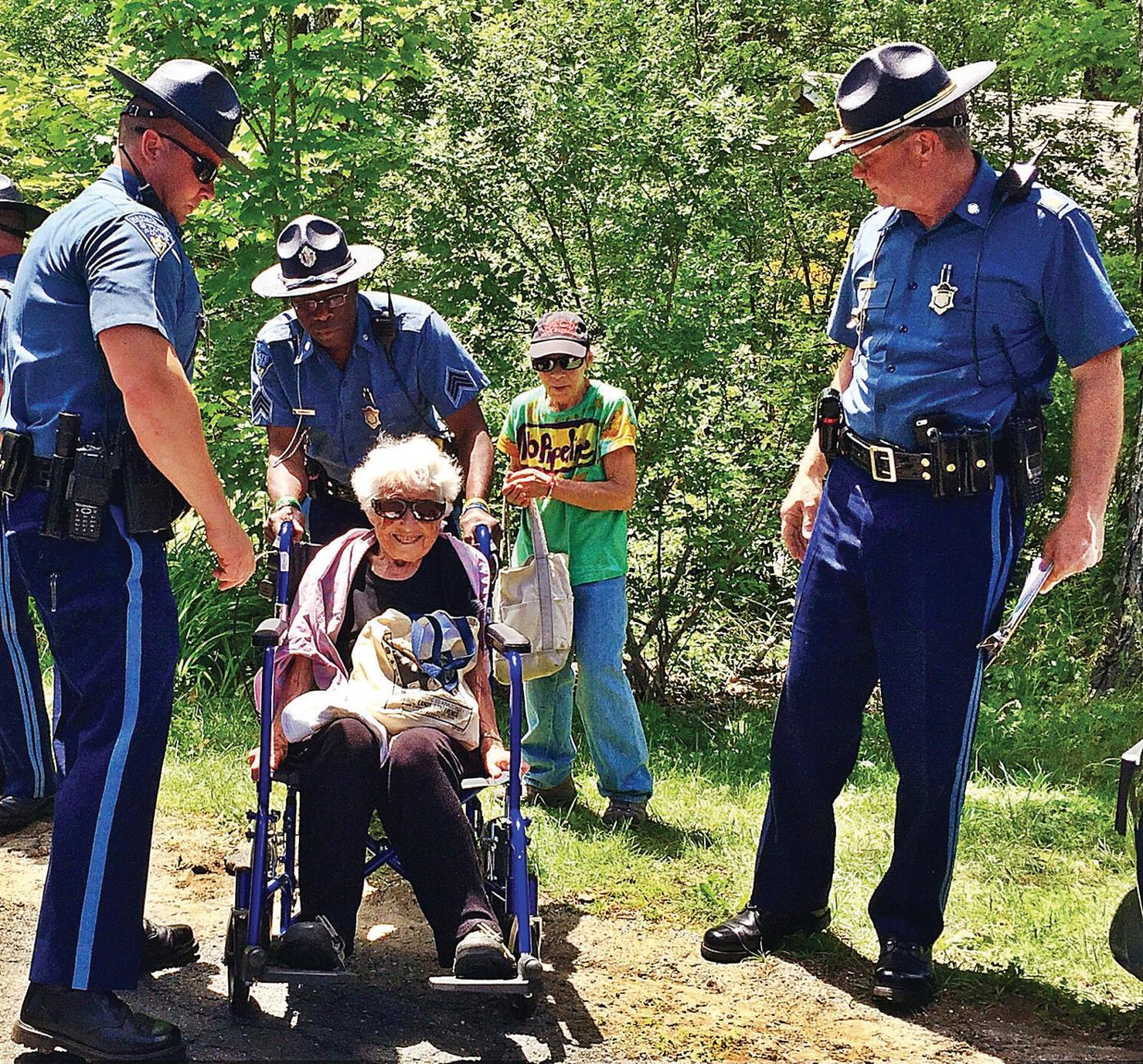 98-year-old woman arrested in pipeline protest: 'My life has been devoted to trying to wake people up'