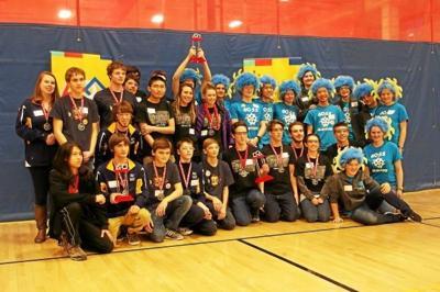 Mount Everett robotics team wins third straight state title