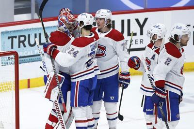 Canadiens Jets Hockey