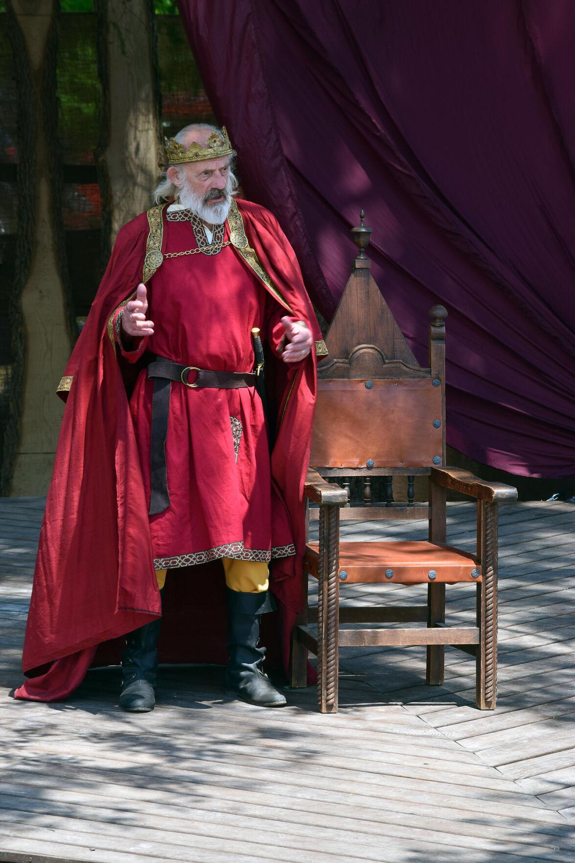 Lloyd as King Lear