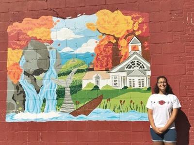 County Fare   Wall art imitating Berkshire life