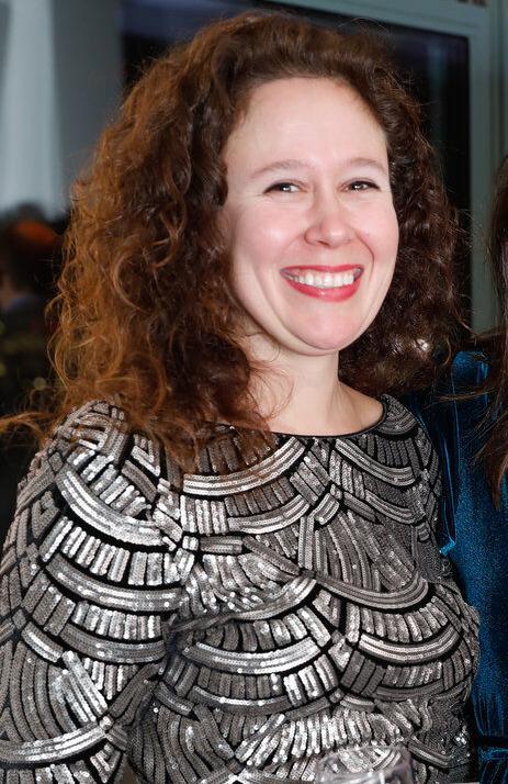 Suzy Helme at gala