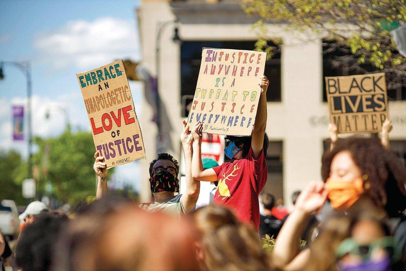 'It has to stop': Protest over death in Minneapolis packs Pittsfield's Park Square