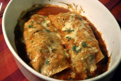 Food Kitchen Idiot Chicken Enchiladas