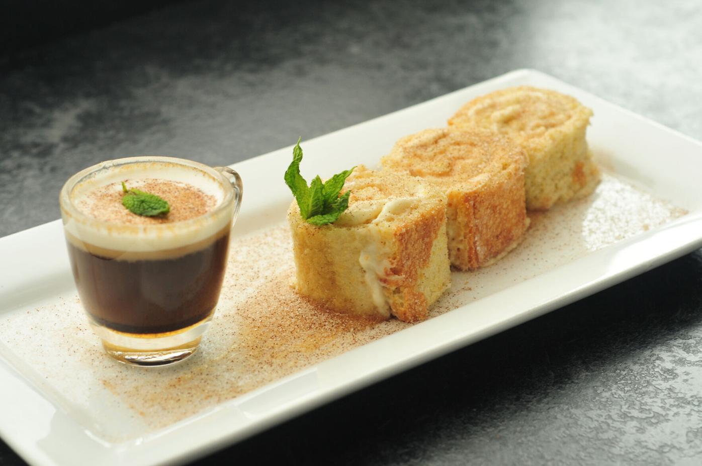 Apple Cider Cake with Espresso