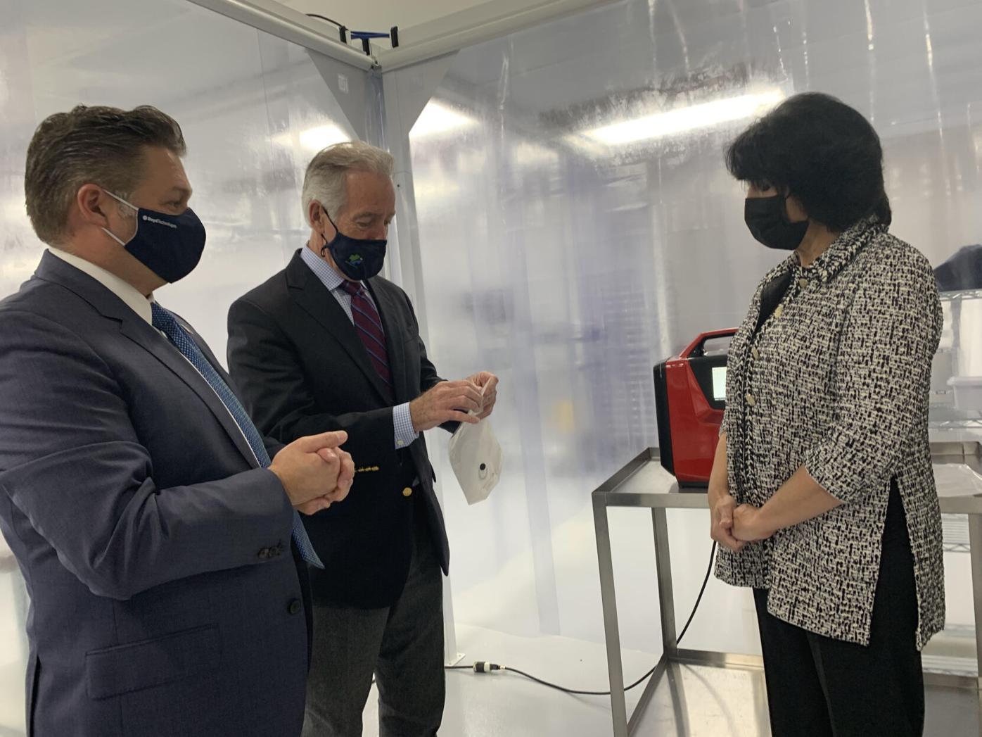 Richard Neal visits Boyd Technologies
