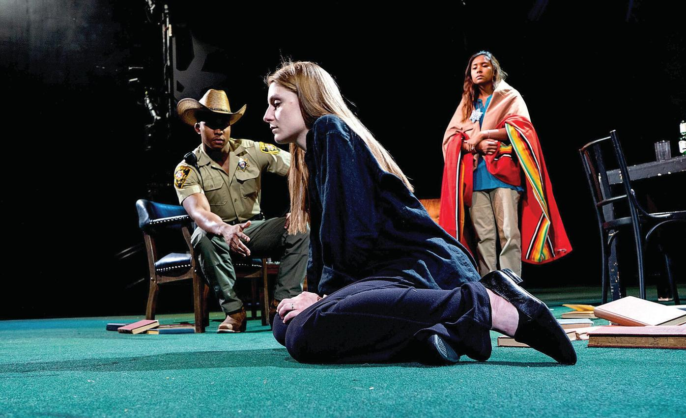 At Williams College, a prize-winning drama tests the mettle of its student cast