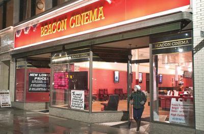 Outside of Beacon Cinema