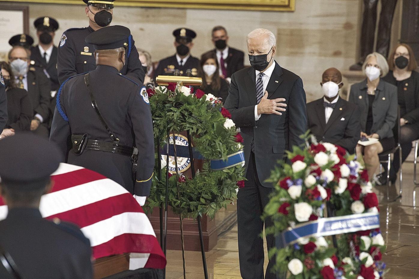 Capitol Lockdown Officer Killed