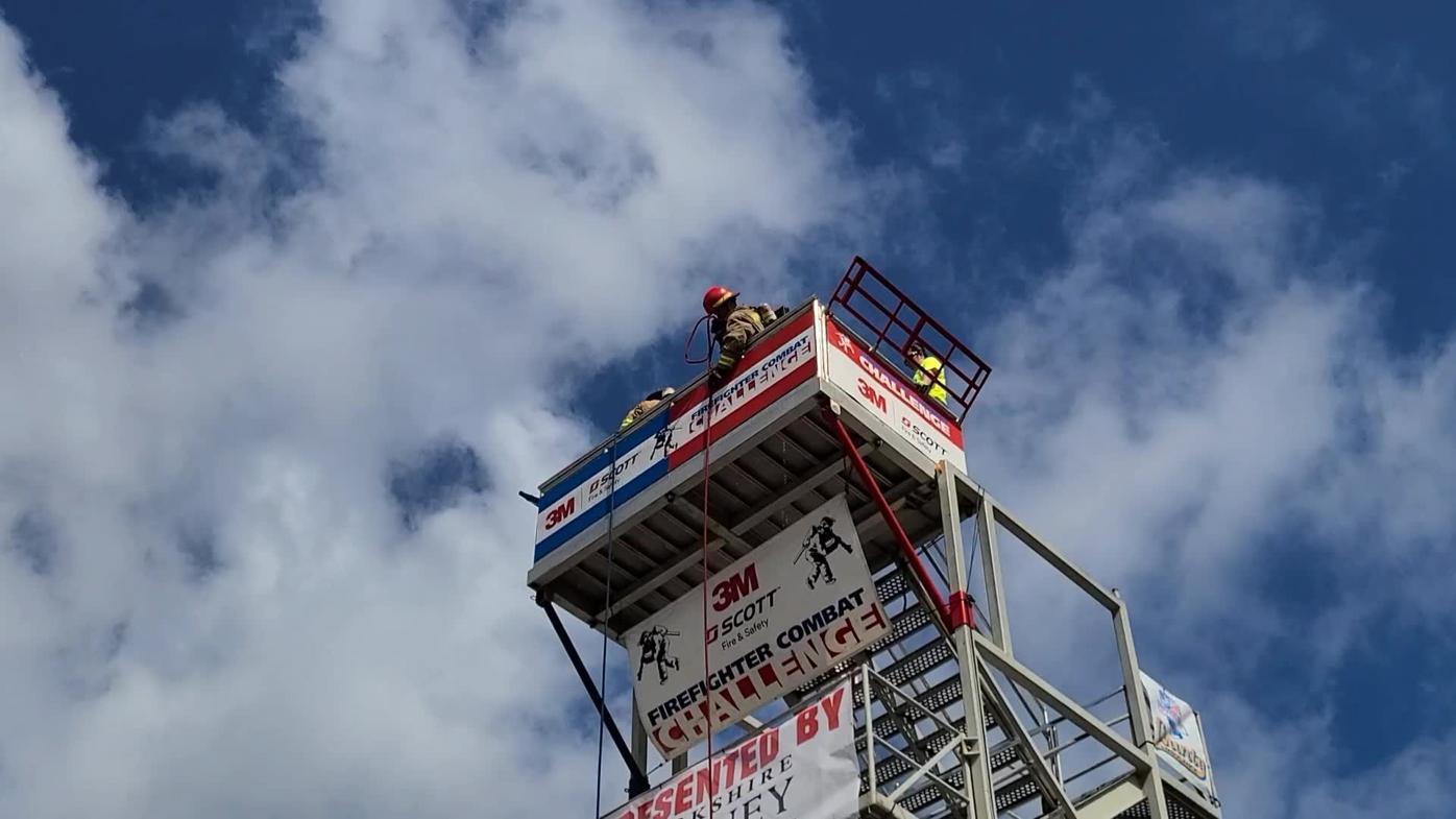 3M Scott Firefighter Combat Challenge