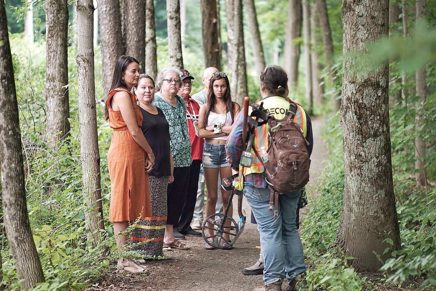 For Stockbridge-Munsee members, return to ancestral homeland 'very humbling'