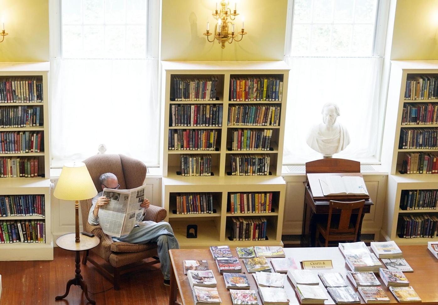 Lenox Library reading room